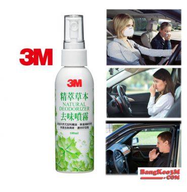 chai xịt mùi xe 3M